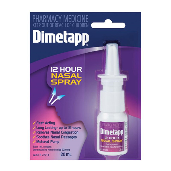 Dimetapp 12Hr Nasal Spray 20ml