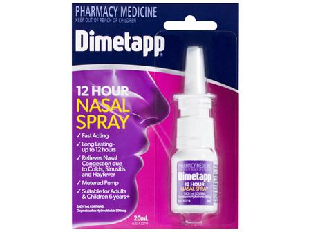 Dimetapp Nasal Spray 20ml