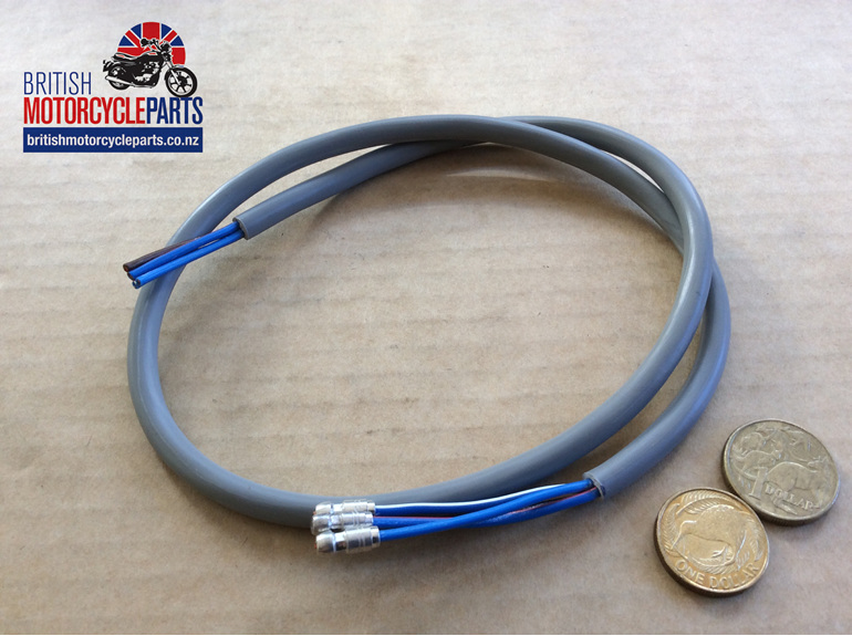 Dip & Horn 4 Wire Grey Moulded - UK - British Motorcycle Parts Ltd - Auckland NZ