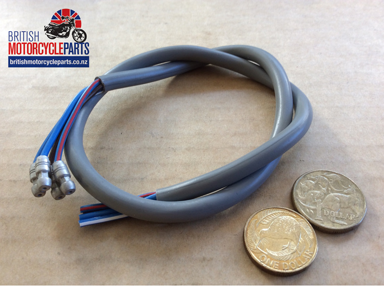 Dip & Horn 4 Wire Grey Moulded - US - British Motorcycle Parts Ltd - Auckland NZ