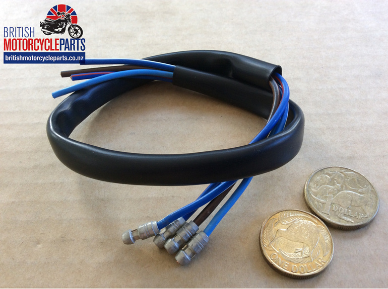 Dip & Horn Wire Black 18 inch Long - British Motorcycle Parts Ltd - Auckland NZ