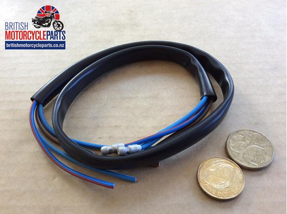 Dip & Horn Wire Black 24 inch Long - British Motorcycle Parts Ltd - Auckland NZ