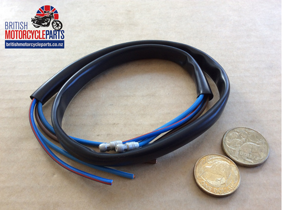 Dip & Horn Wire Black 24 inch Long - British Motorcycle Parts Ltd - Auckland NZ