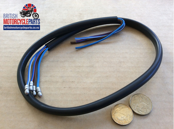 Dip & Horn Wire Black 30 inch Long - British Motorcycle Parts Ltd - Auckland NZ