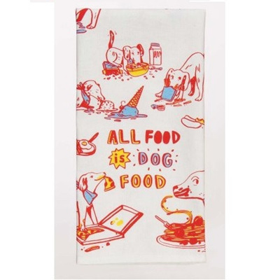 Dish Towels - All Food Is Dog Food