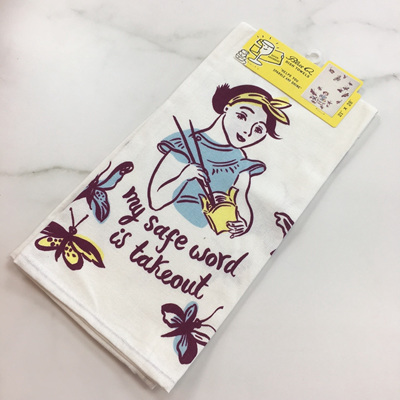 Dish Towels - Safe Word is Takeout