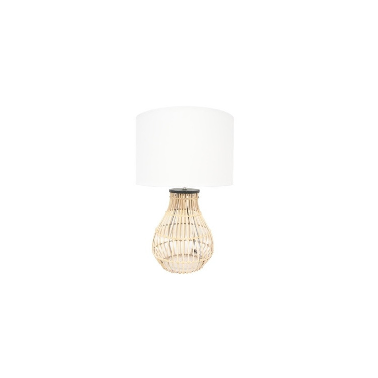 Diva Table Lamp - Natural Cane 61cmh