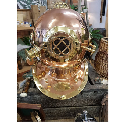 Divers Helmet - Brass & Copper