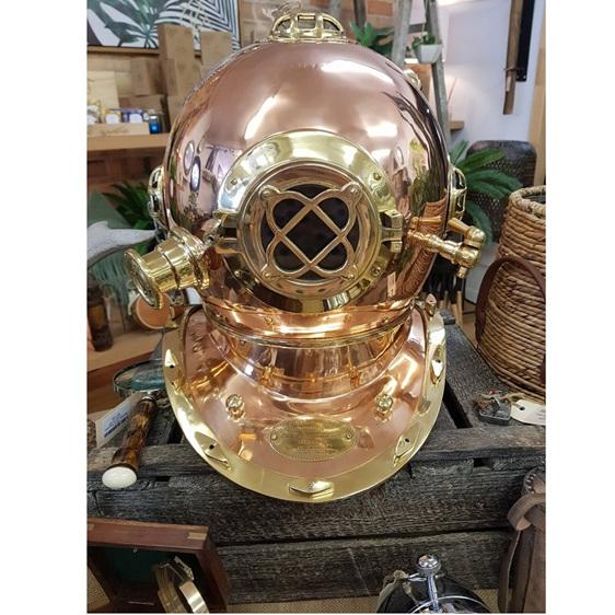 Divers Helmet - Brass & Copper