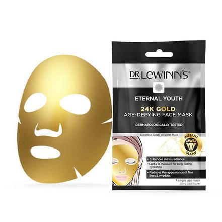 DLW EY 24K Gold Age-Defying Face Mask