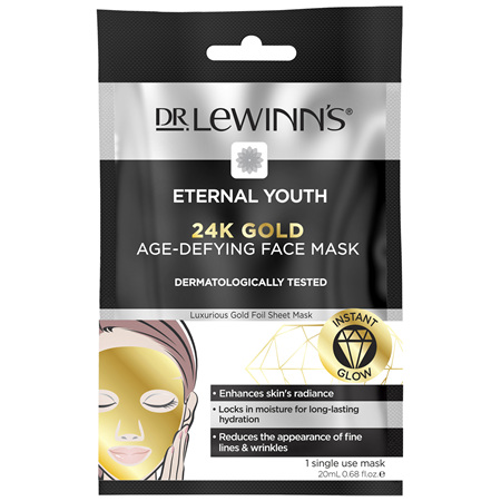 DLW EY 24K Gold Age-Defying Face Mask