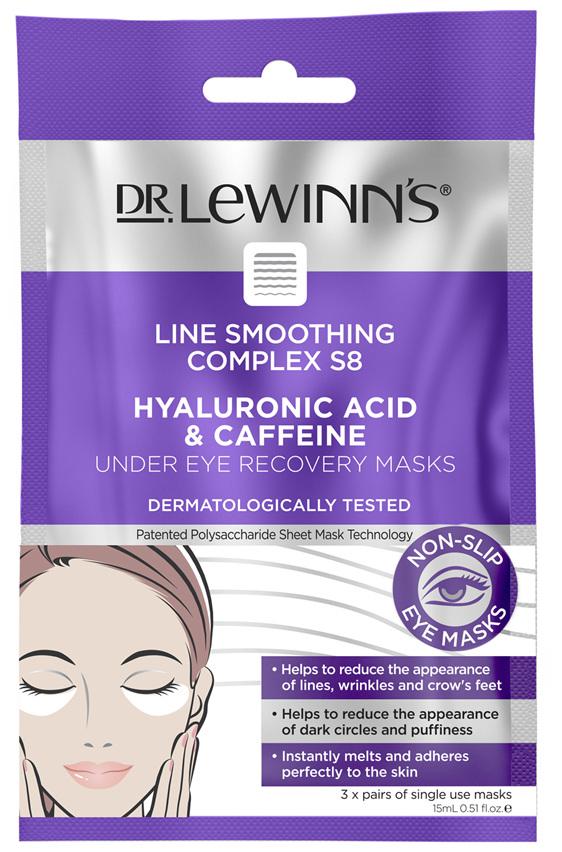DLW LSC S8 Hyaluronic Acid & Caffeine Under Eye Mask