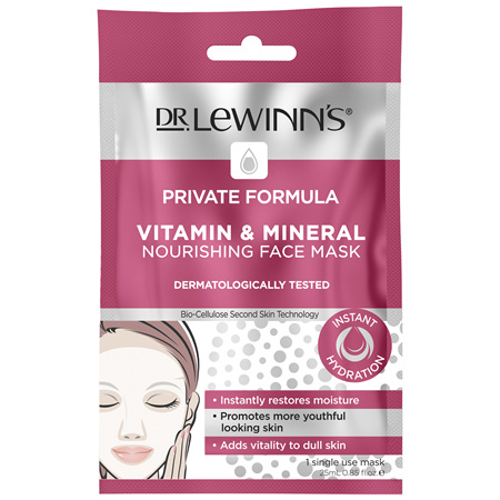 DLW PF Vitamin & Mineral Nourishing Face Mask