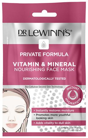 DLW PF Vitamin & Mineral Nourishing Face Mask