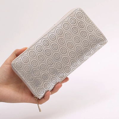 Doily Cutout Luxe Wallet