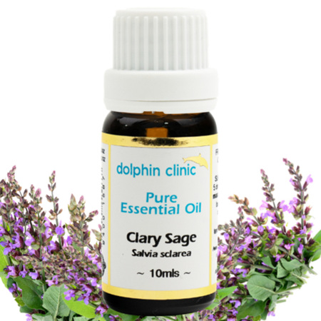 DOLPHIN Clary Sage Essential Oil 10ml