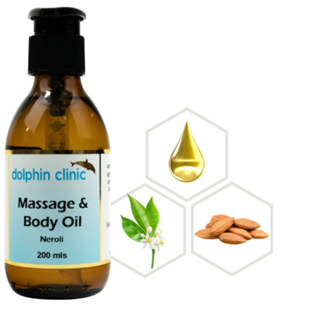 DOLPHIN Neroli Massage & Body Oil 200ml