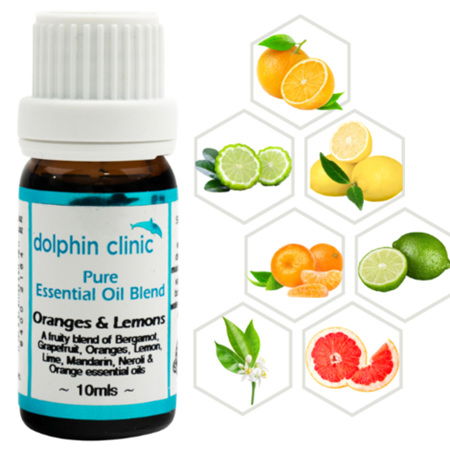 DOLPHIN Oranges & Lemons Blend 10ml