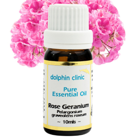 DOLPHIN Rose Geranium Essential Oil 10ml