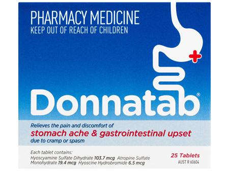 Donnatab Tablets 25 Pack