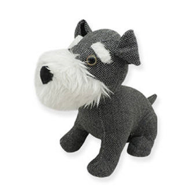 Door Stop - Schnauzer Dog