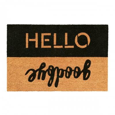 Doormat Hello Goodbye