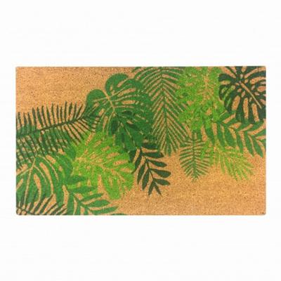 Doormat Tropical Leaf