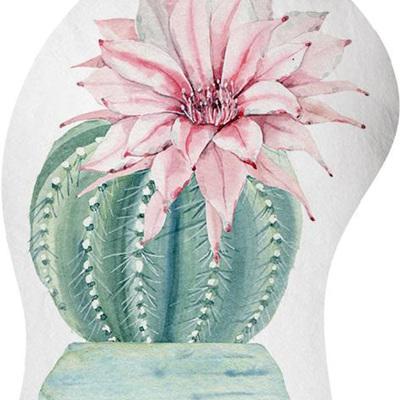 Doorstop - Cactus Pink Flower