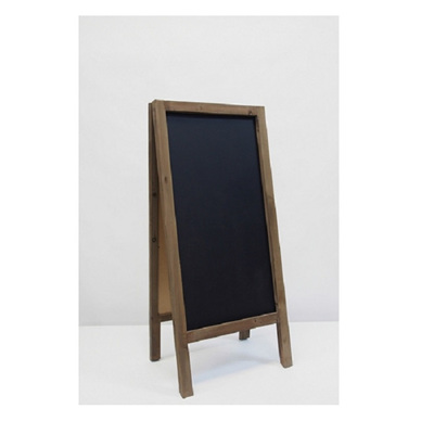 Double Sided Blackboard - Natural