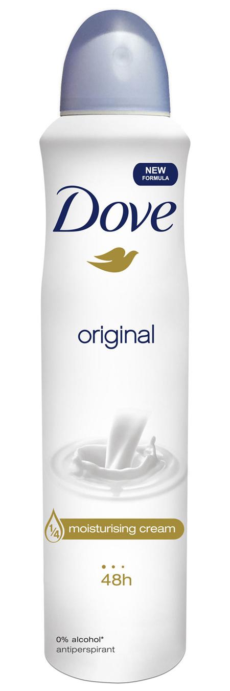 Dove Antiperspirant Aerosol Deodorant Original 250mL