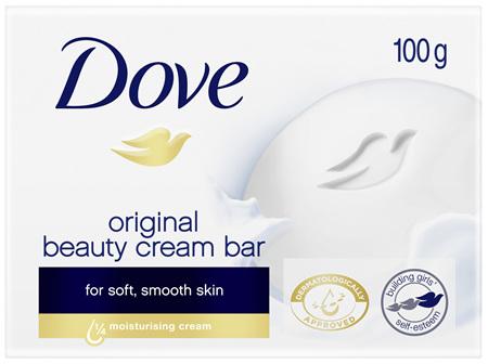 DOVE Beauty Cream Bar Original Soap 100g 1 Bar