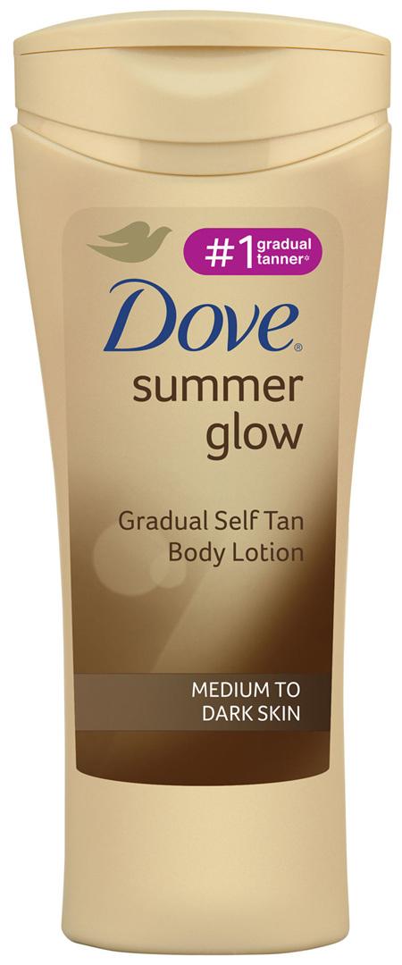Dove Body Lotion Medium To Dark Skin 250ml