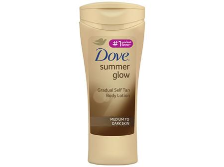 Dove Body Lotion Medium To Dark Skin 400ml