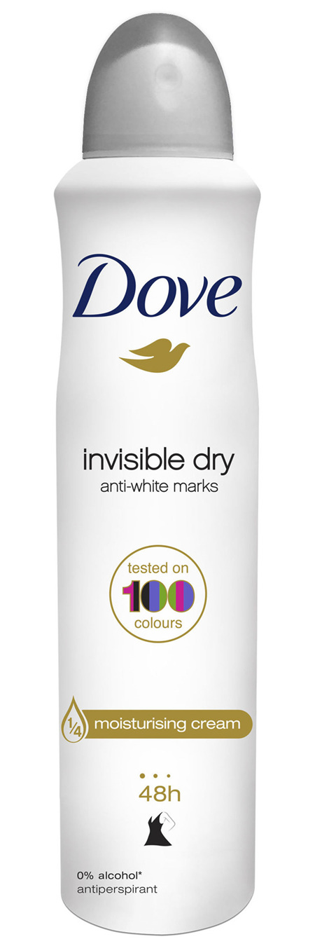 DOVE Go Fresh Antiperspirant Deodorant Invisible Dry for up to 48 hour protection 250mL 1