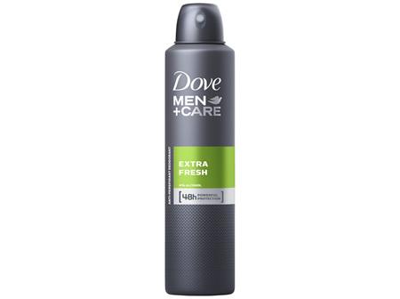 Dove Men Antiperspirant Aerosol Deodorant Deodorant Extra Fresh Helps fight sweat and odour for up