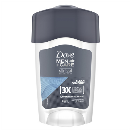 Dove Men Antiperspirant Cream Clean Comfort 45mL