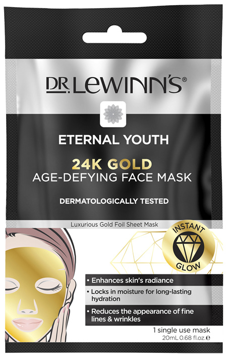 Dr. LeWinn's Eternal Youth 24K Gold Age-Defying Face Mask 1 pack