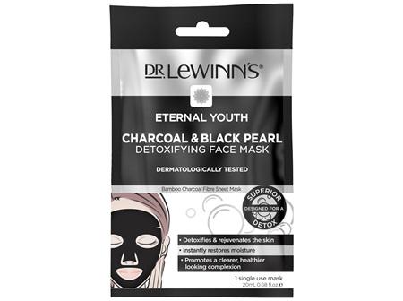 Dr. LeWinn's Eternal Youth Charcoal & Black Pearl Detoxifying Face Mask 1 pack