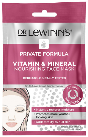 Dr. LeWinn's Private Formula Vitamin & Mineral Nourishing Face Mask 1 pack