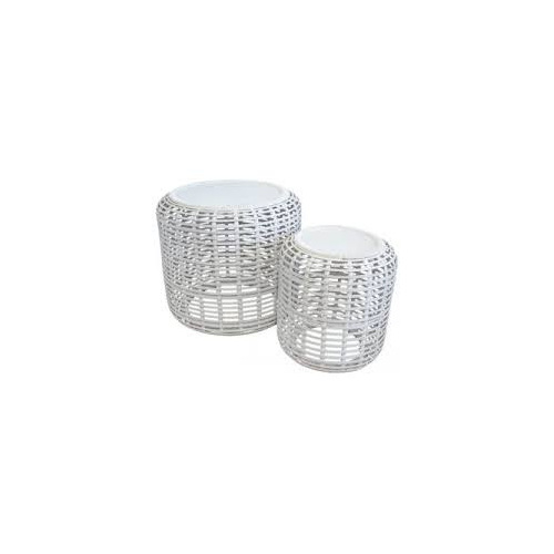 Drum Tables Bamboo Wash Set/2