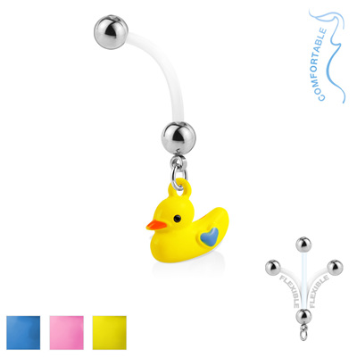 Duckling Dangle Pregnancy Belly Ring