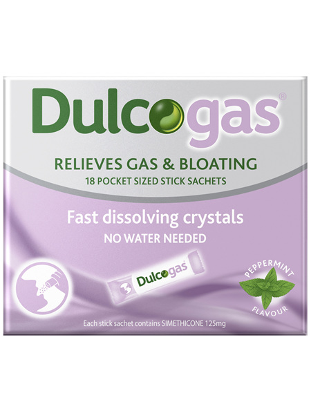 Dulcogas Sachets 18 Pack