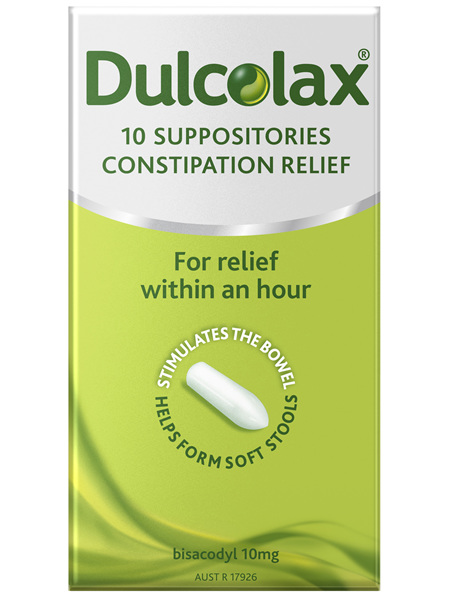 Dulcolax Suppositories 10 Pack