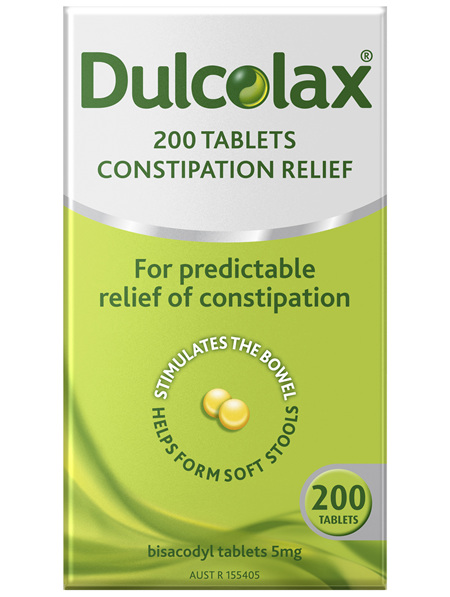 Dulcolax Tablets 200 Pack