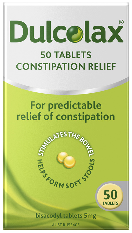 Dulcolax Tablets 50 Pack