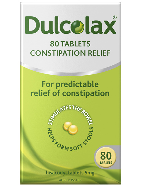 Dulcolax Tablets 80 Pack