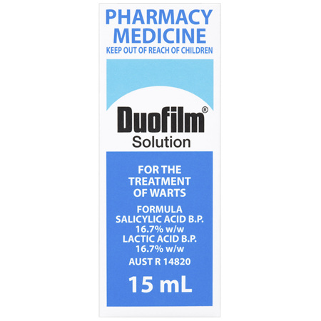 Duofilm Solution for Wart Treatment 15mL