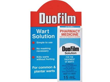 Duofilm Wart Solution 15ml