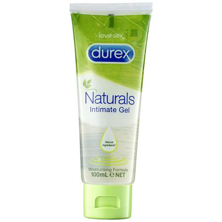 Durex Naturals Intimate Gel Moisturising Lubricant 100ml