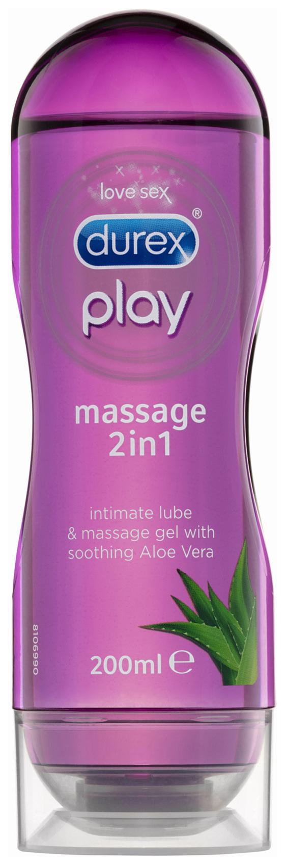 Durex Play Massage 2 in 1 Gel Intimate Lubricant Aloe Vera 200mL
